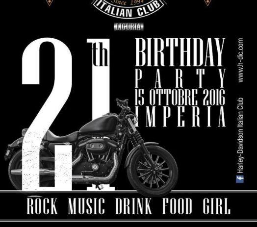 21 Birthday Party H-DIC ... e non prendete impegni.. è meglio per voi